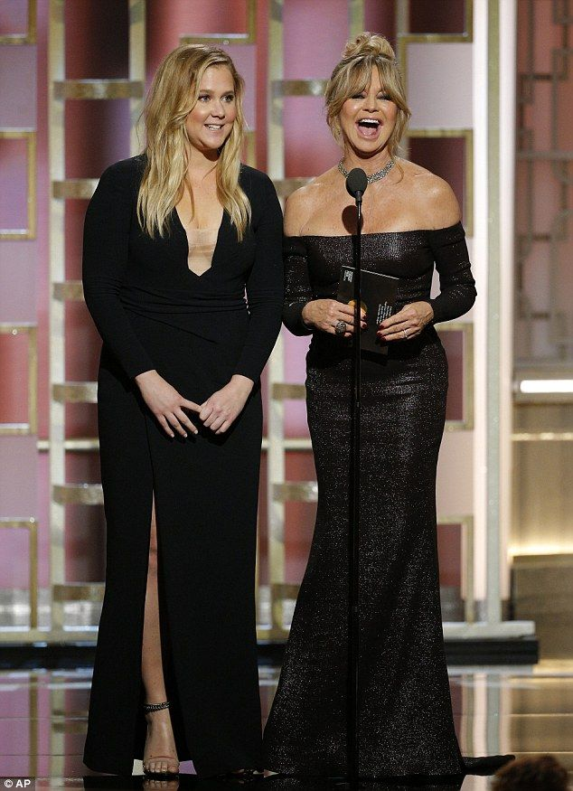 What a duo! Goldie Hawn proved she still has the talent for eliciting laughs as she presen...