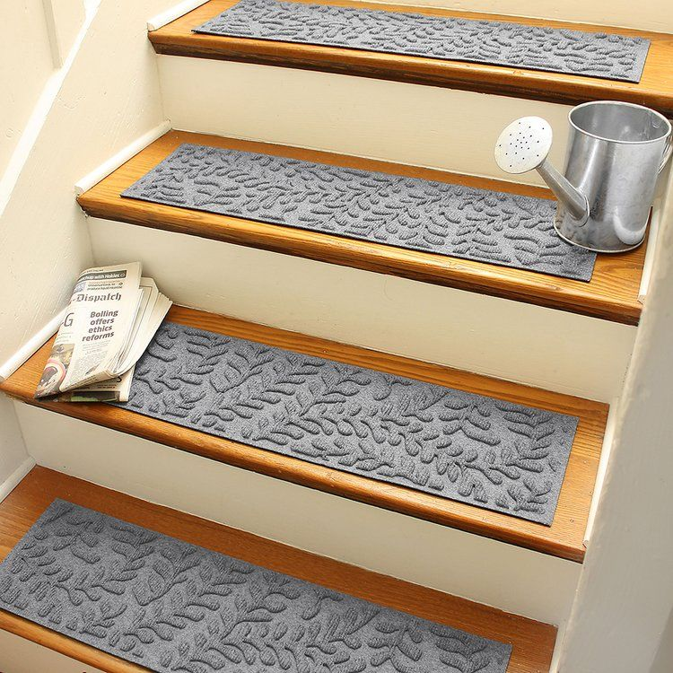 Best Beaverton Medium Gray Stair Tread Stair Tread Rugs 400 x 300