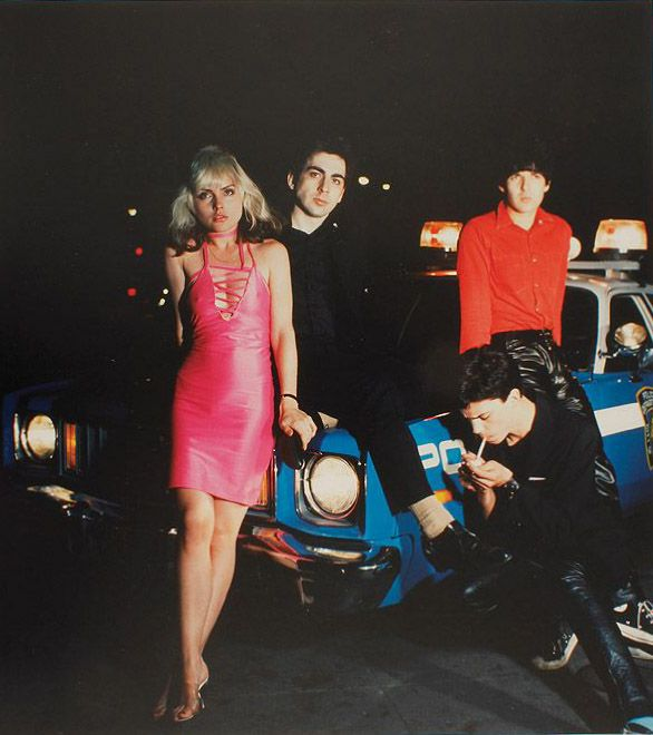 blondie plastic letters 1977 for the cover of the second blondie album plastic letters chrysalis 1977 deborah harry wore a hot pink dress with a