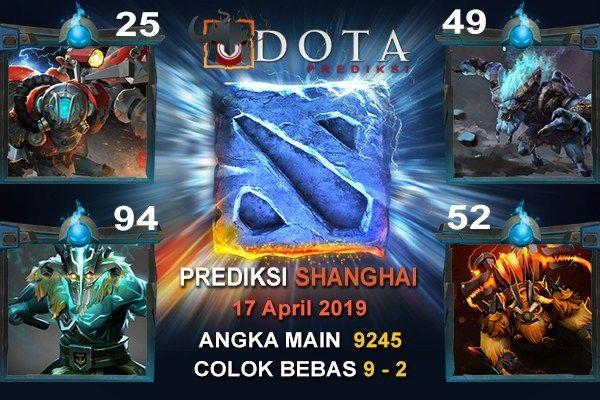 Prediksi SHANGHAI tanggal 18 APRIL 2019 Angka Main : 9245