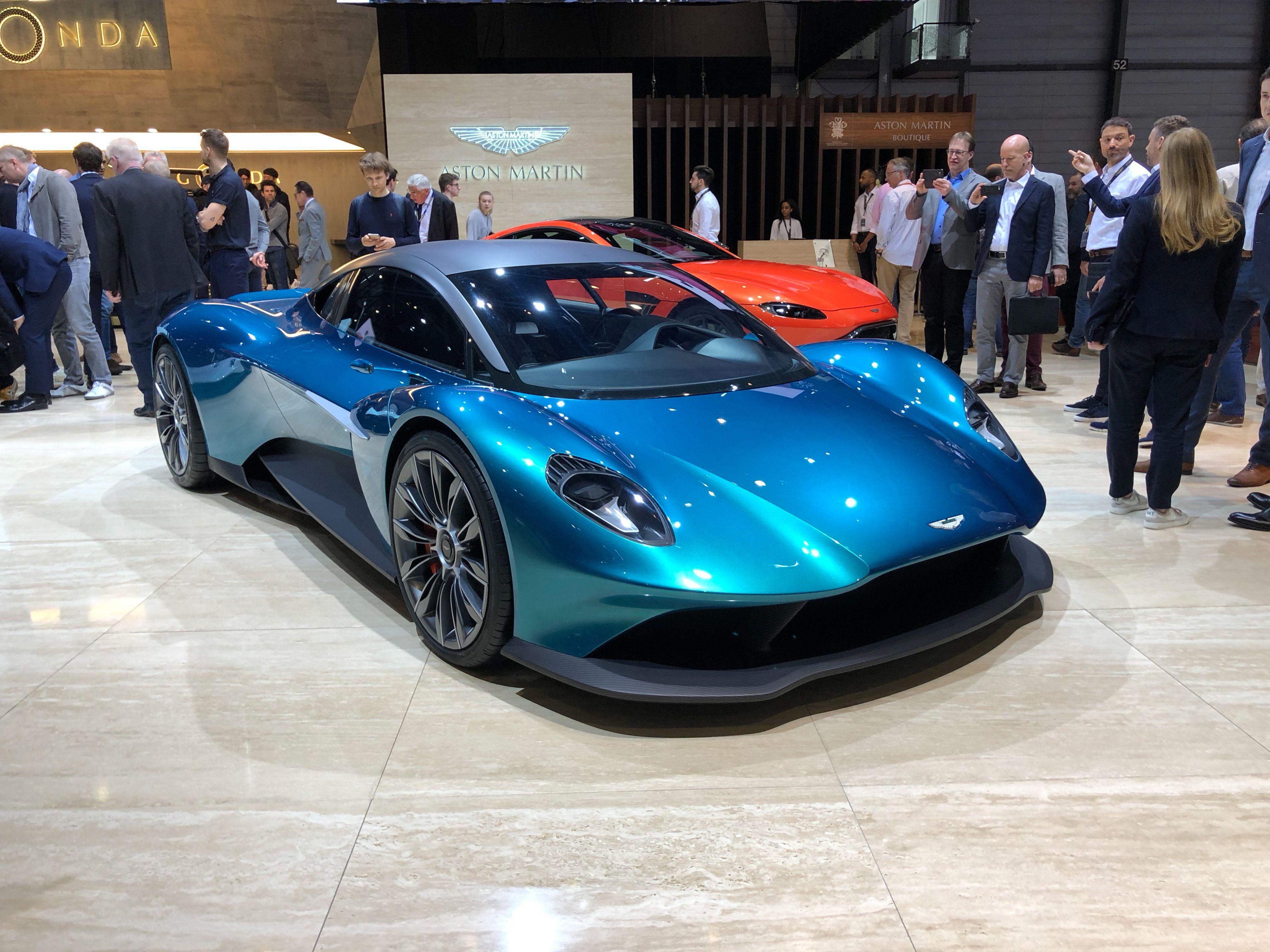 Aston Martin Vanquish Vision Di 2020