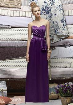 Beatutiful A line Satin Sweetheart Spring Bridesmaid Dress - 1300252103B - US$95.79 - BellasDress