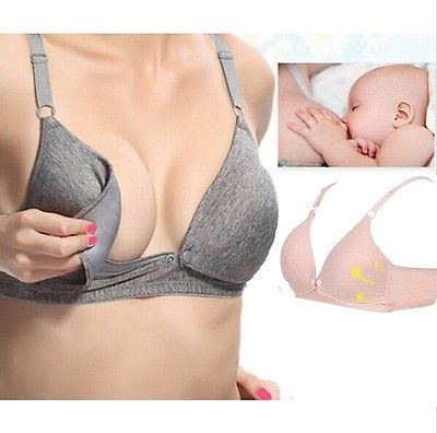 a1bcac1e6 cómodo sujetador para embarazada Lactancia Sostén bra Ropa interior in  Ropa