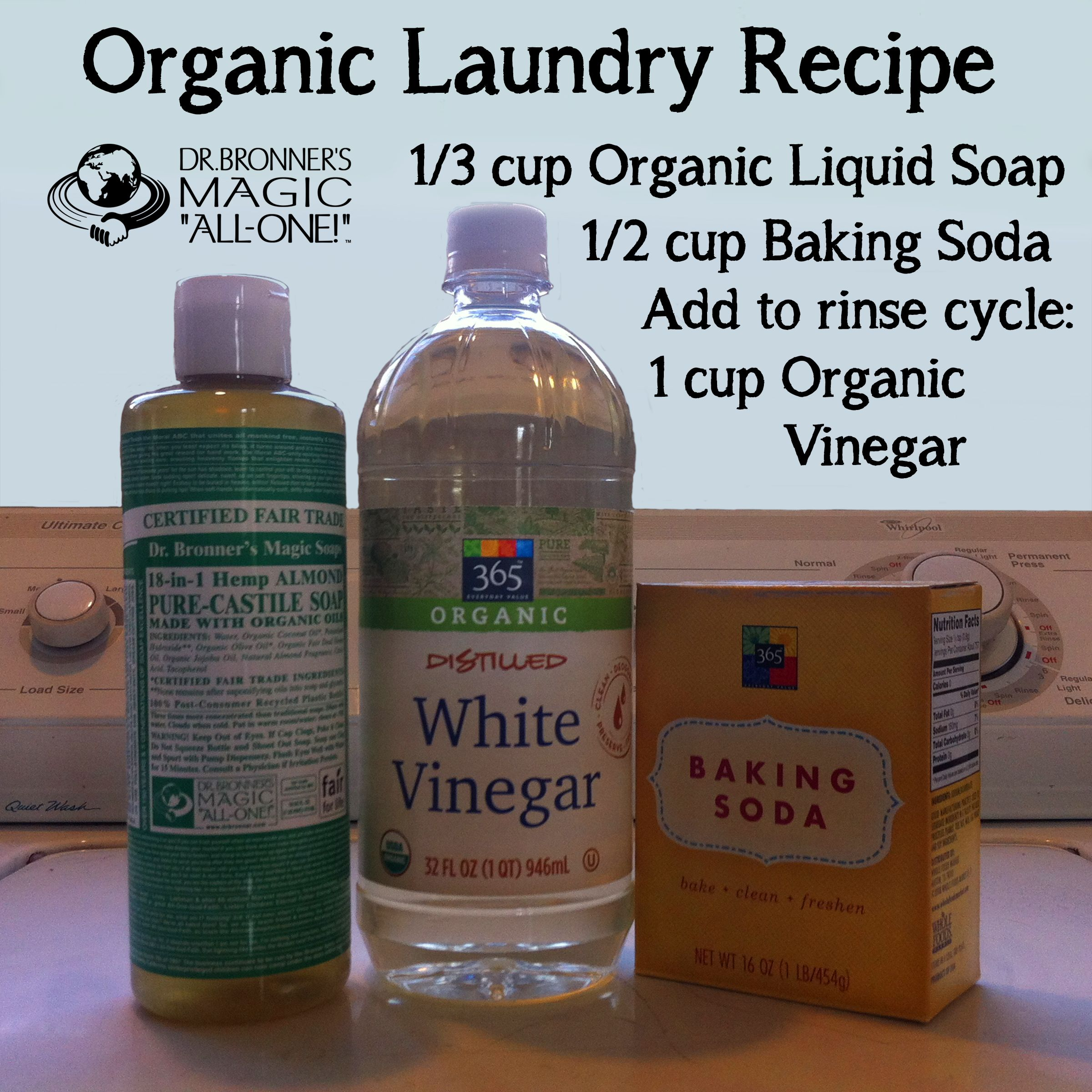 Looking For A Simple Organic Laundry Recipe Here S One Of