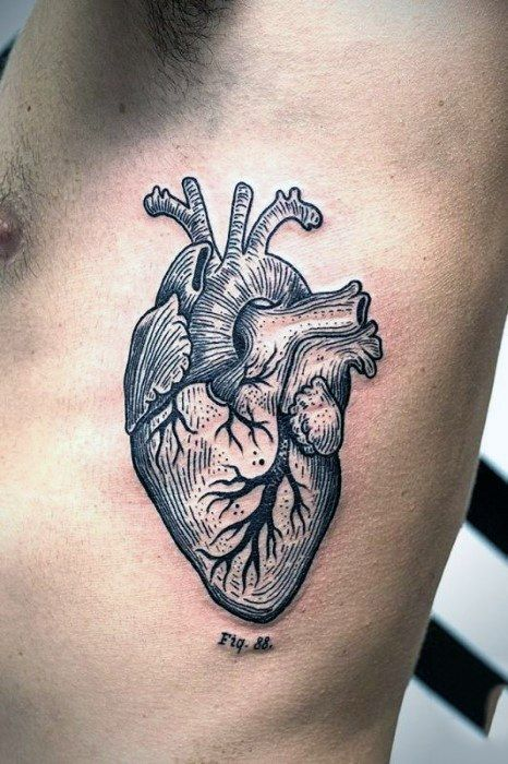 Photo of 34 Anatomical Heart Tattoos With Strong Meanings – TattoosWin