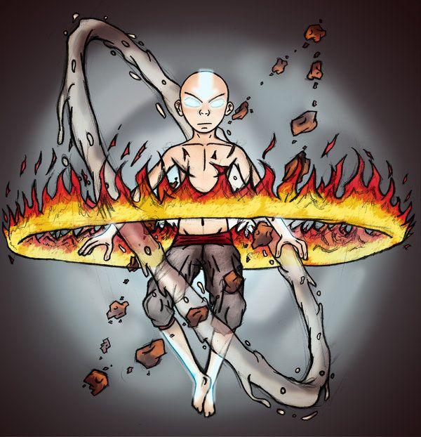 Movie Avatar State Aang: True Avatar State By ILikeShirts