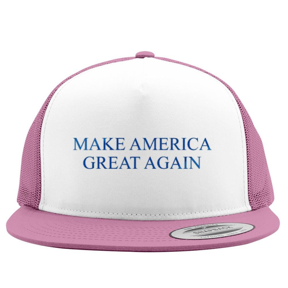 Make America Great Again Embroidered Trucker Hat
