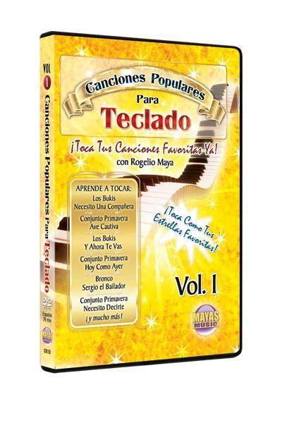 Canciones Populares Para Teclado, Vol. 1 (DVD)