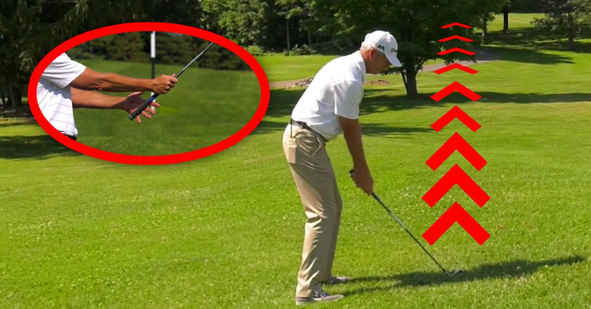 In this video, Jim Roy shows us why your open club face at