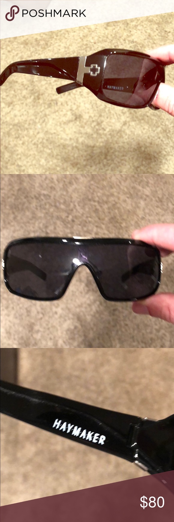 15119859b8 Spy sunglasses haymaker only used few times in great shape accessories  sunglasses png 580x1740 Haymaker sunglasses