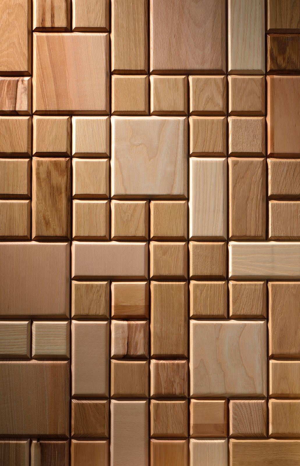 Wooden Wall Panel Tessellated Nature Wooden Wall Panels Wall Panel Design Interior Wall Design