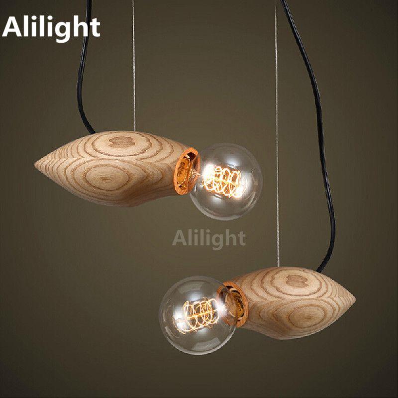 Moderner Kreativität Holz Pendelleuchten Vogel Form Anhänger - moderne lampen für wohnzimmer
