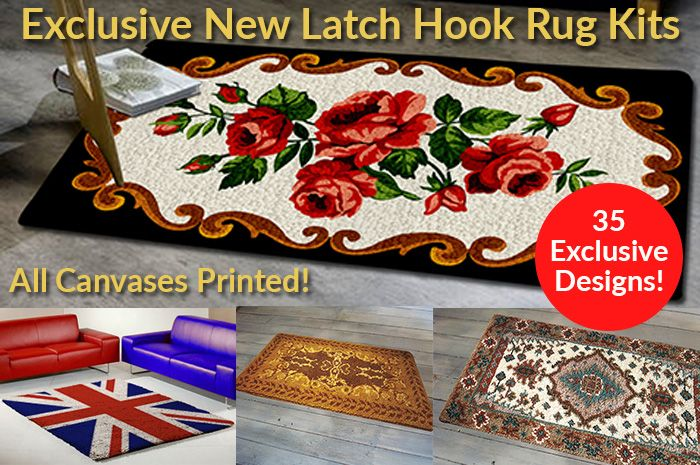 Brand New Exclusive To Readicut Premium Handcrafted Latch Hook