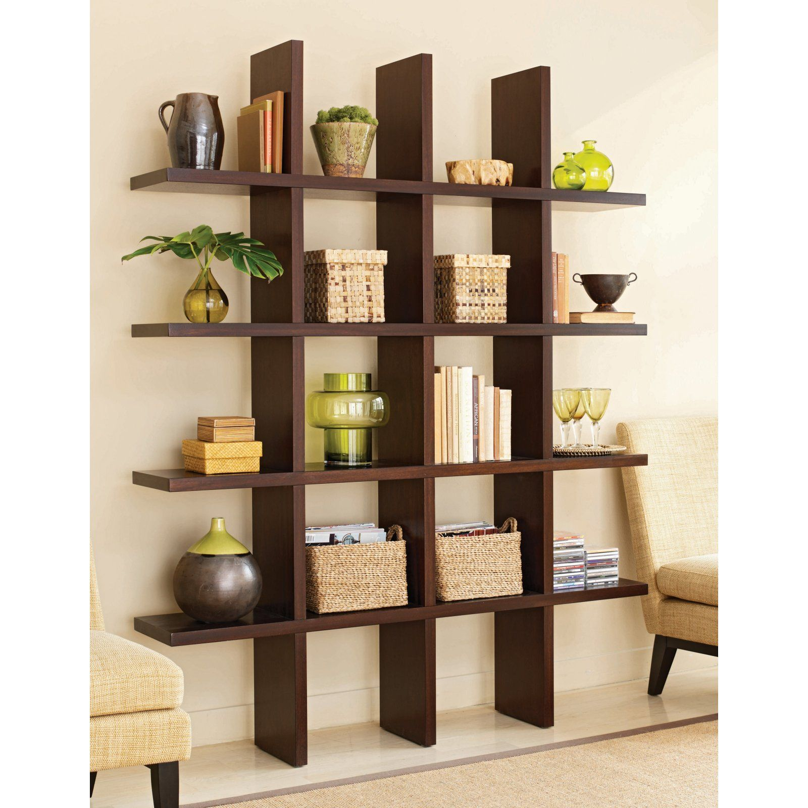 Tag Tic Tac Toe Bookcase Room Divider - Bookcases at Book Cases ...