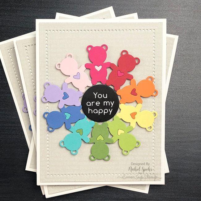 sssrainbowbearhugsig1 in 2020  rainbow card cards