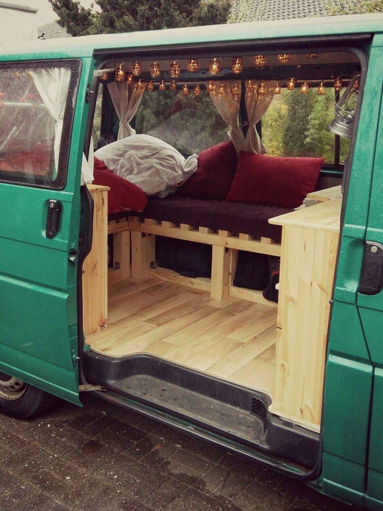 27 DIY Minivan Camper Ideas T4 camper interior ideas