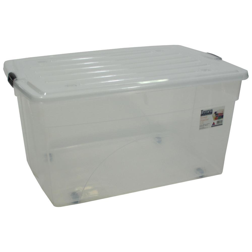 112ltr Storage Organiser System 7310 Storage Stackable Plastic Storage Bins Rolling Storage Bins