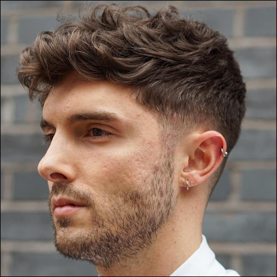 Haircuts For Men With Thick Wavy Hair Men S Haircut Pinterest