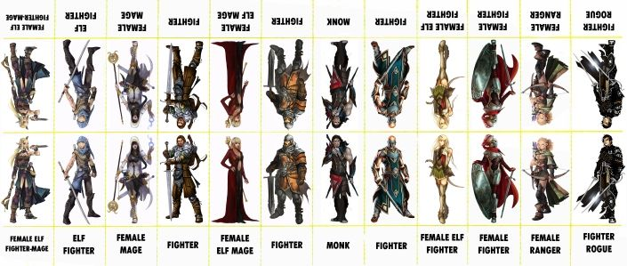image about Printable Paper Miniatures named 7 Miracles free of charge paper minis for RPGs. Myth, Star Wars