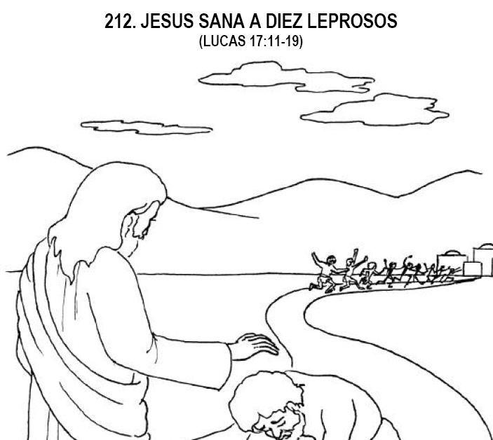 DIEZ LEPROSOS SON SANADOS | Escuela | Pinterest | Sons