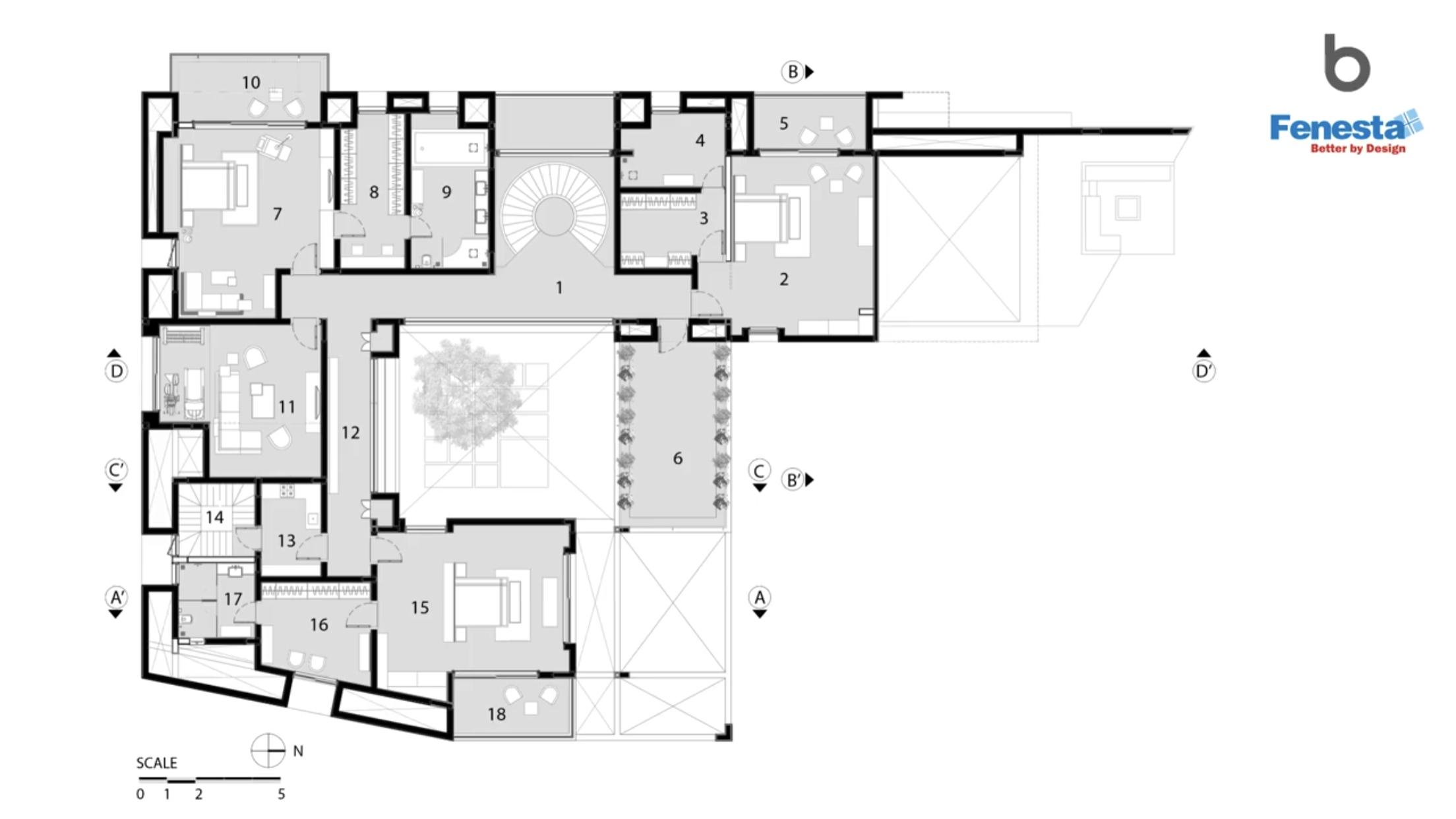 Buildofy Https Youtu Be Oxu4xfx2ega Architecture Plan Floor Plans Courtyard House