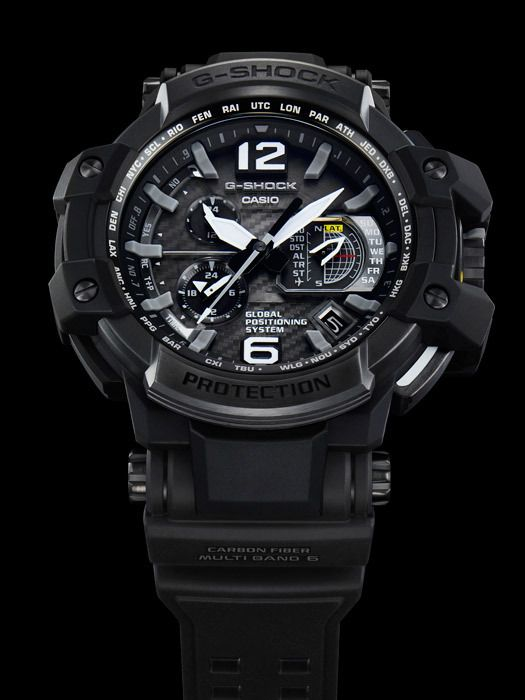 Casio G-Shock GPW-1000 GravityMaster - See The World s First GPS Solar  Atomic Wave Ceptor Hybrid Watch c8c11bec2d