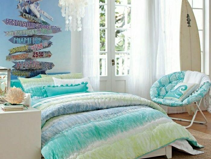 44 super idées pour la chambre de fille ado! Comment l\u0027aménager? Room