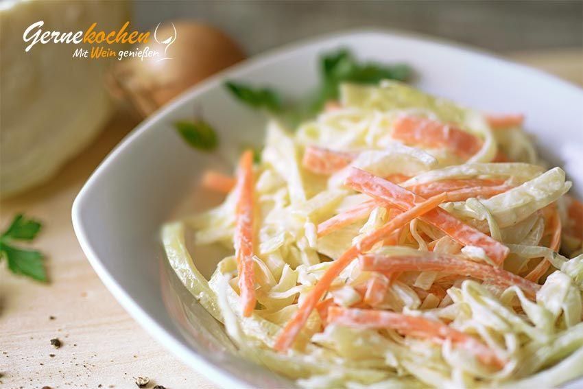 Cole-Slaw- Salat – amerikanischer Krautsalat