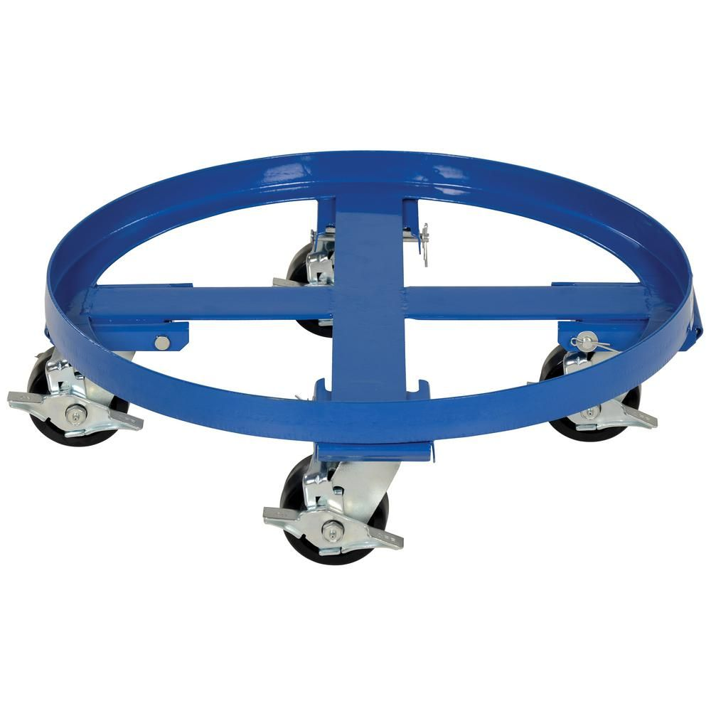 Giant Move CB-H20 Steel Drum Dolly for 55 Gallon Drum 24 Diameter x 5-1//2 Height 900 lbs Capacity Red