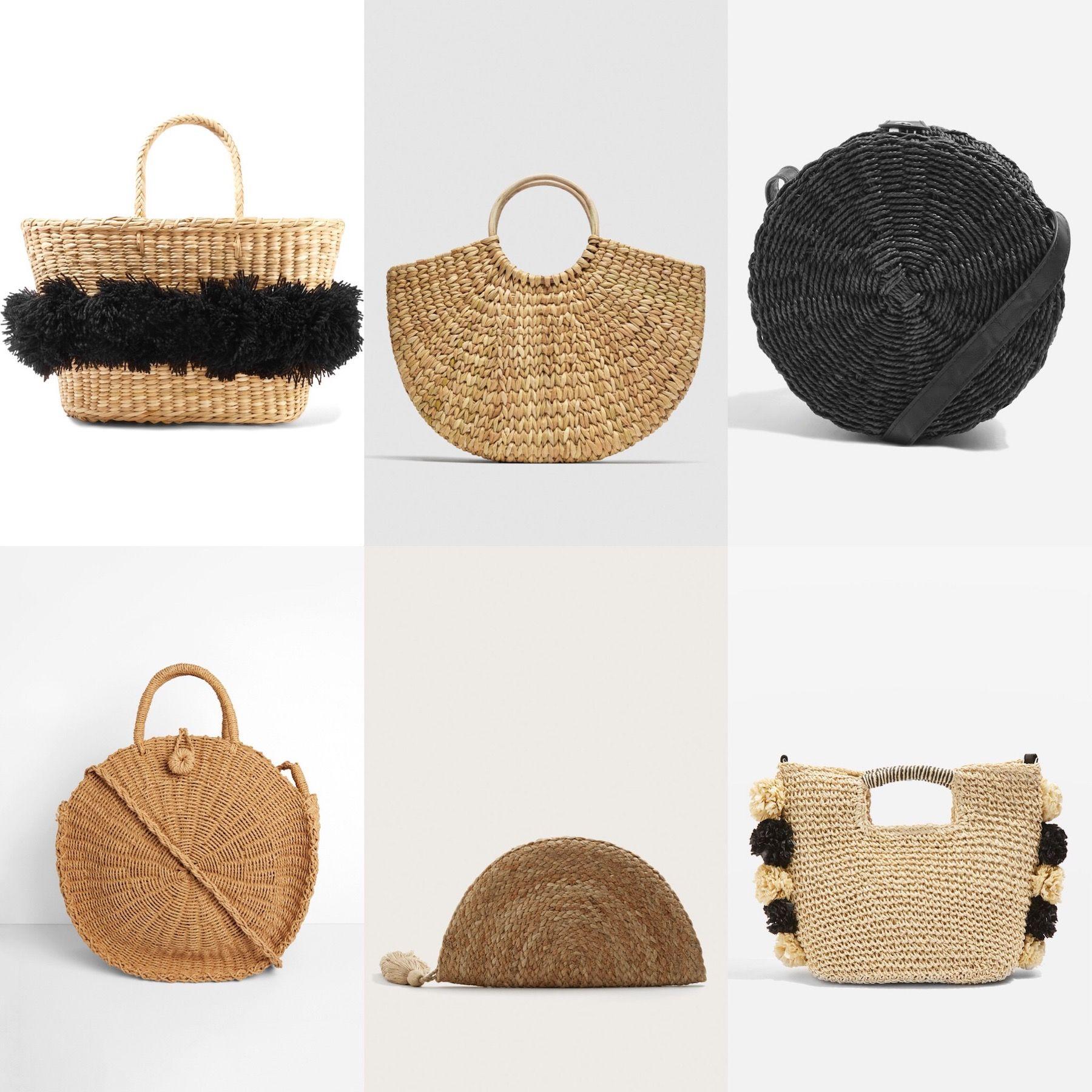 Straw Bag Trend 2018 Basket Bags