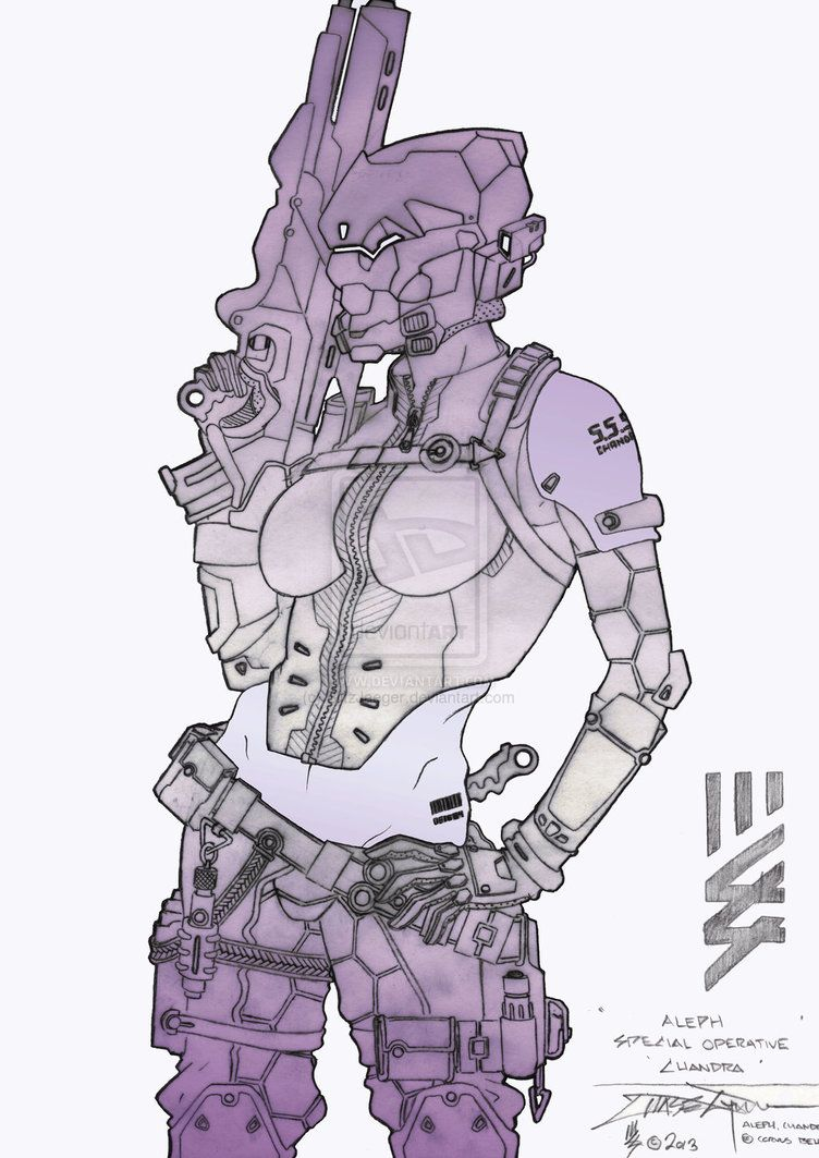 Infinity Aleph Spec Ops Chandra by BlitzJaeger on DeviantArt