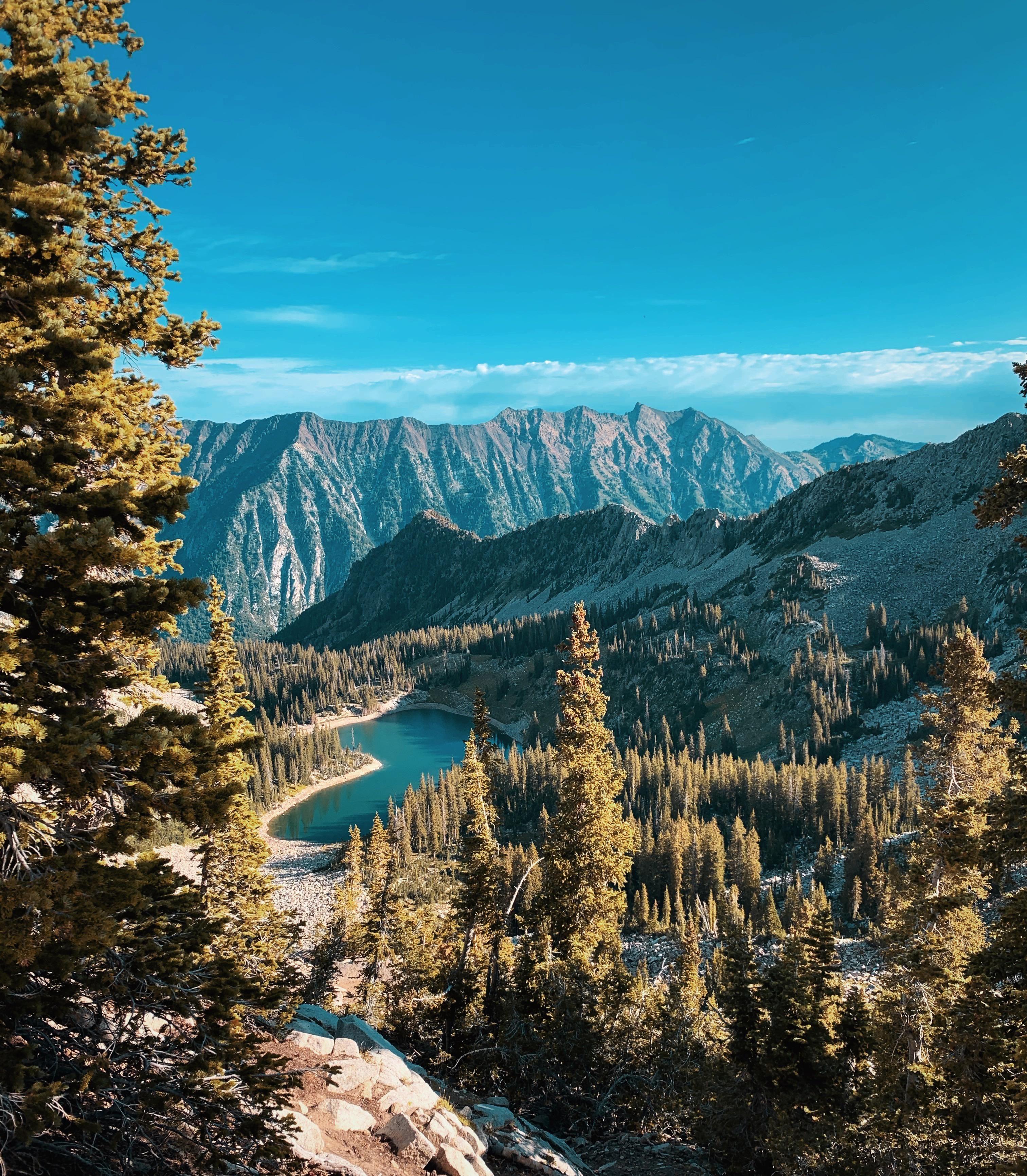 My Favorite Alpine Lake Just Outside Of Salt Lake City Utah 3024 X 3462 Alpine Lake Salt Lake City Utah Salt Lake City