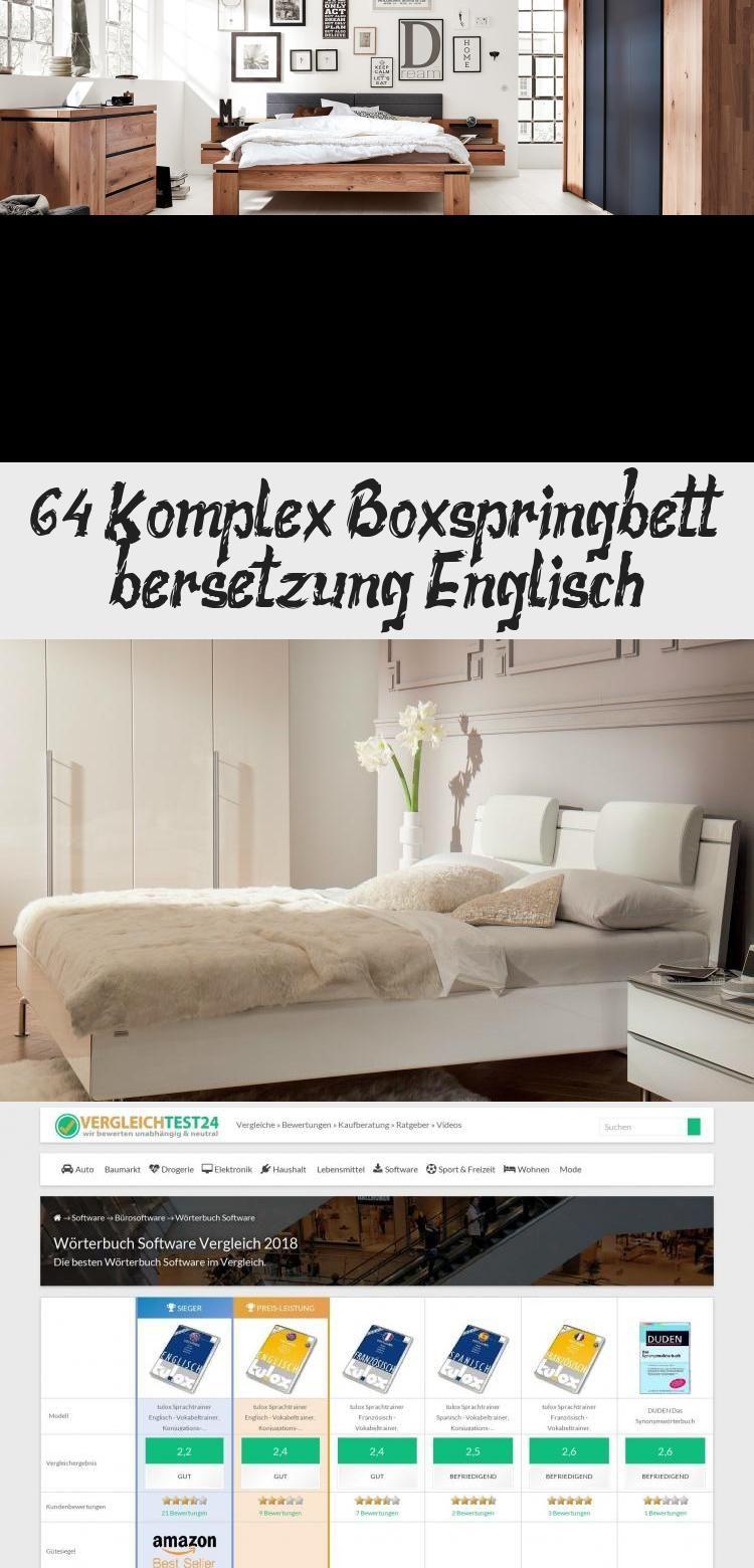 64 Komplex Boxspringbett Ubersetzung Englisch Babyzimmerlandhaus In 2020 Home Decor Decor Furniture