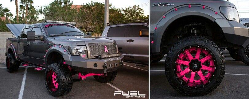 Save the tata's! Pink rims, Pink ferrari, Truck living