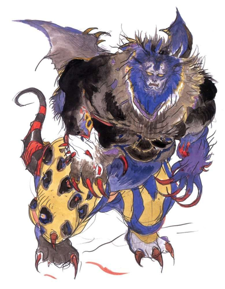 Yoshitaka Amano King Of Eblan Final Fantasy Iv Final Fantasy Artwork Final Fantasy Iv Final Fantasy Art