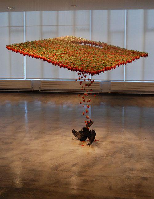 absolutely 'mad' interior design – hanging installation art