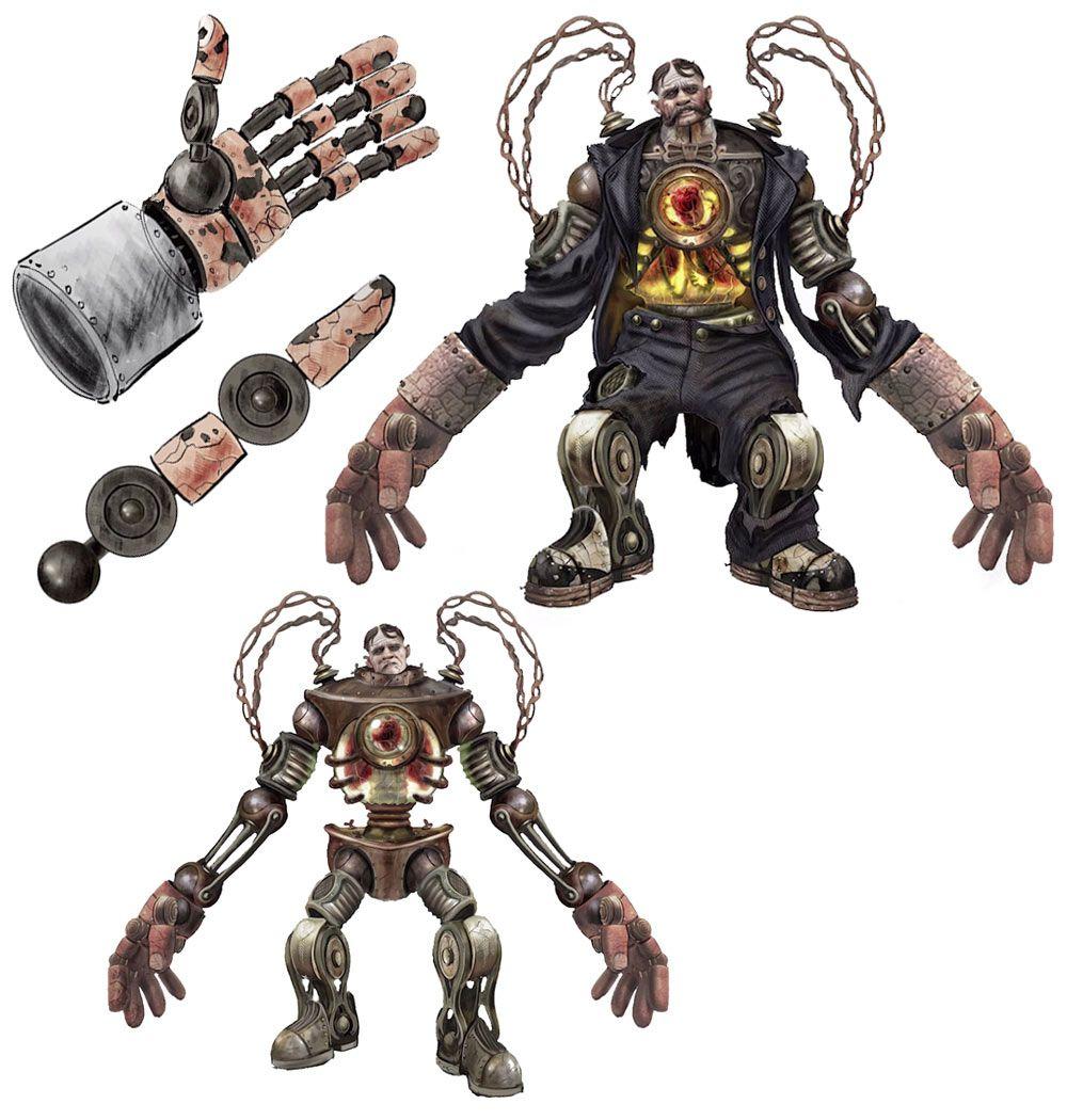 BioShock Infinite Handyman | Monsters/Aliens - 149.8KB