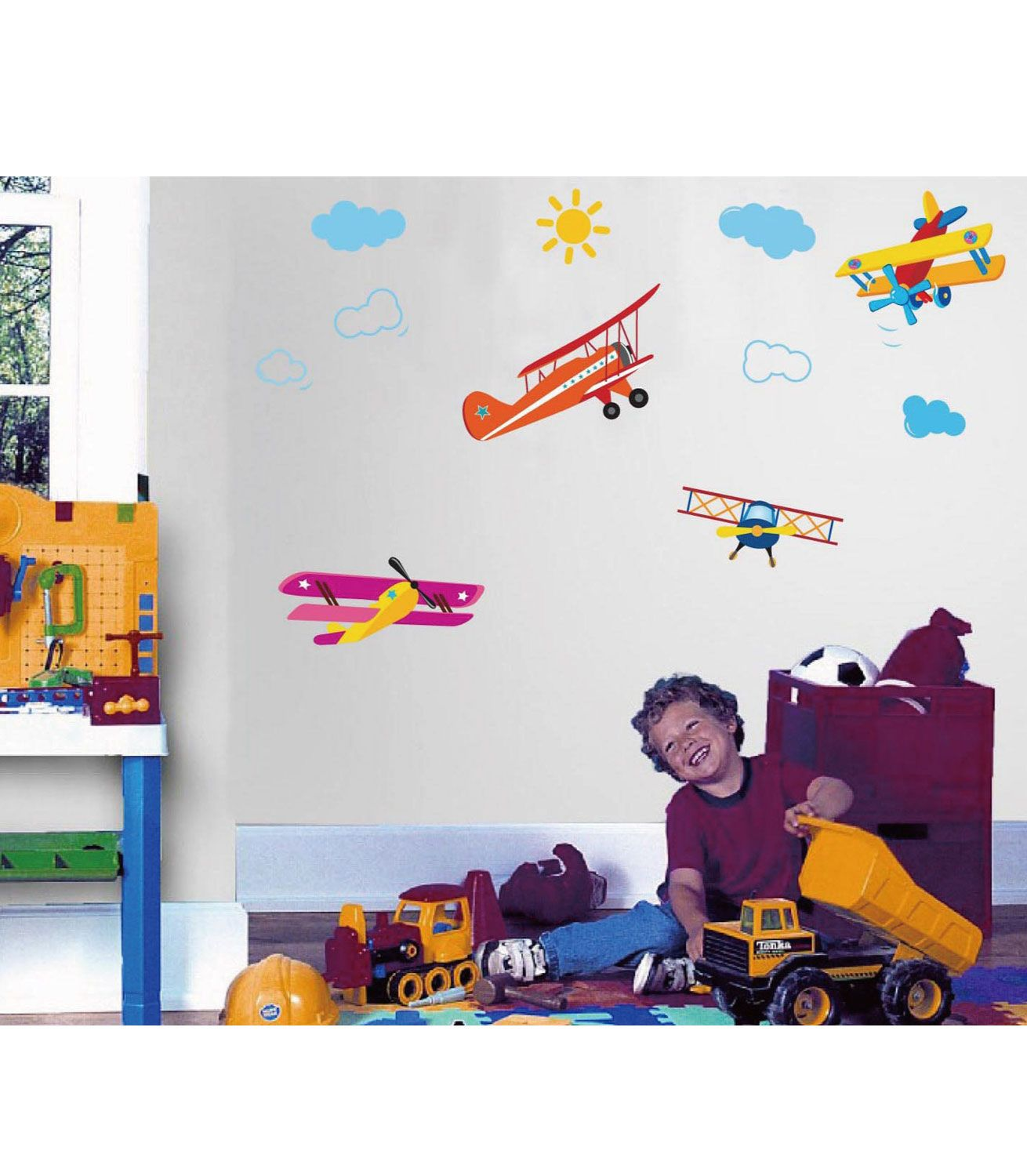 Buy Your Kiddicare Aeroplane Wall Stickers Reviews From