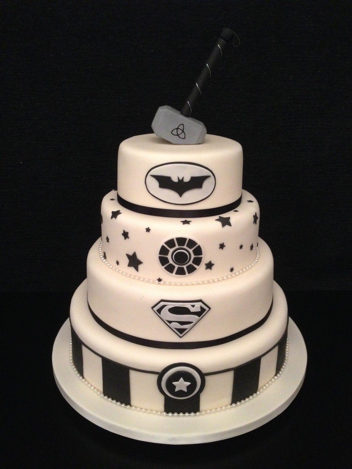 Superhero Wedding Cakes Google Search My Big Fat Geek
