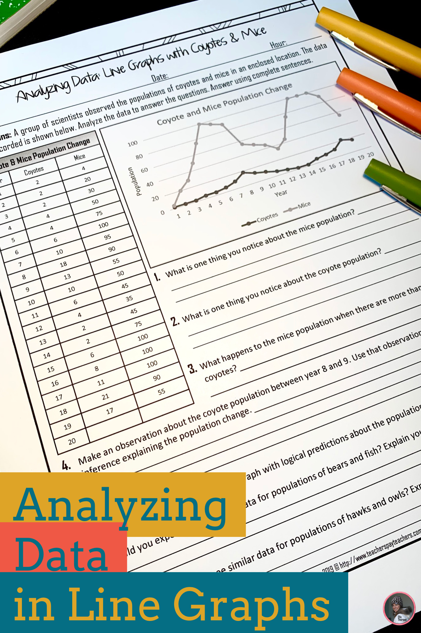 Analyzing Data With Line Graphs How To Interpret Line Graphs Science Lessons Middle School Middle School Science Experiments Line Graphs [ 2048 x 1364 Pixel ]