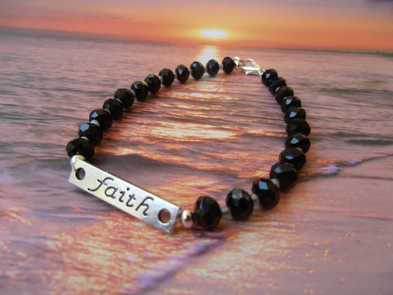 Braceletgift for herblack braceletreligious jewelrywomens