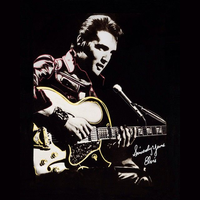 "Check out this cool picl of #ElvisPresley or you may know him best as ""the King"". #TheKing of was Regarded as one of the most #significant cultural icons of the 20th century. He also was an amazing Rock and Roll #singer and #actor."