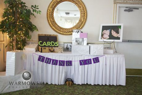 Wedding Reception Head Table Setup The Gift Table Continued The