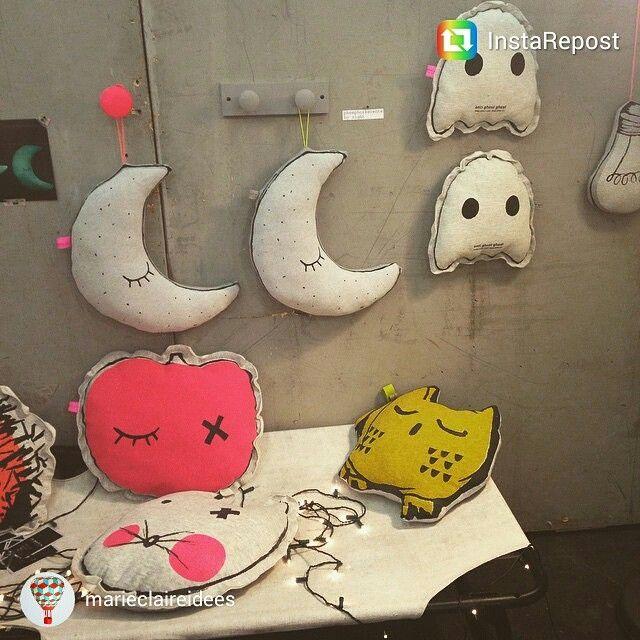 #MO15 #PieceofMO15 Les doudous qui brillent la nuit #maisonetobjet