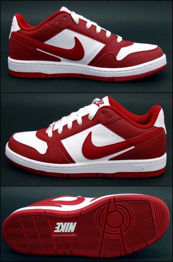 Nike Air Prestige III Mens Sneaker Red White SZ 10 (NEW