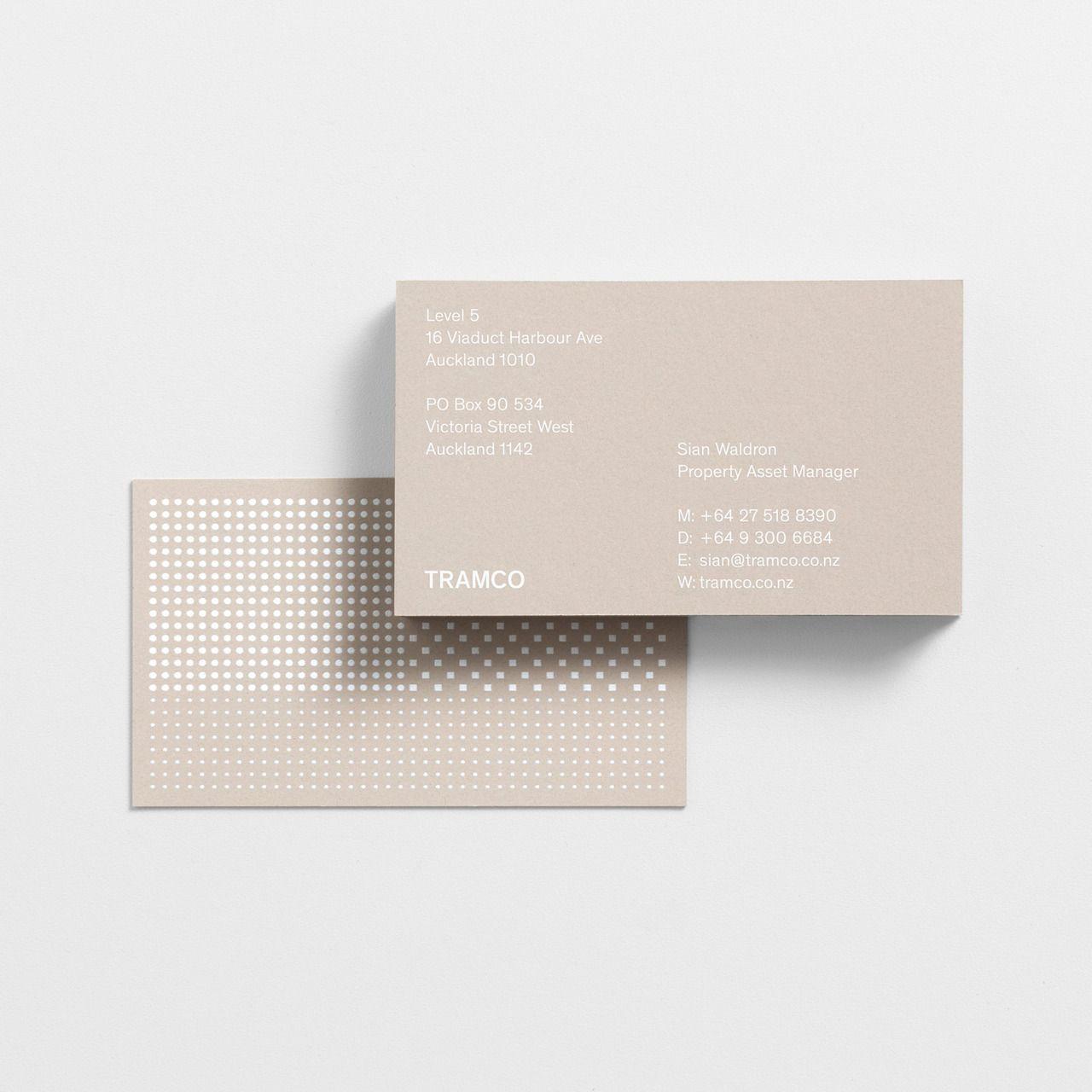 Dark Side Of Typography Identity Visitenkarten Und Karten