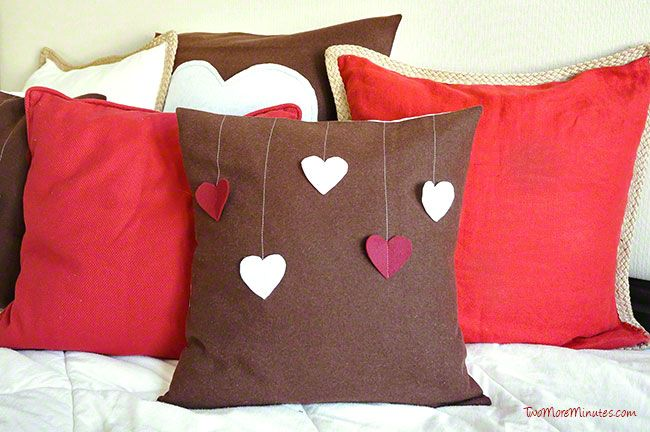Valentine's Day Pillows - Two More Minutes