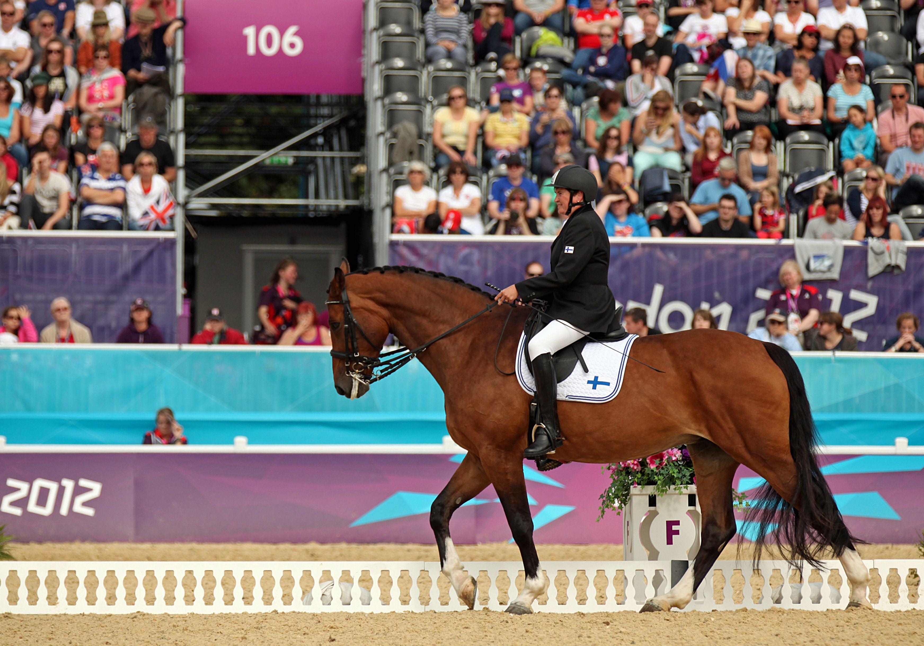 Katja Karjalainen ja Rosie Lontoossa, kuva Suomen Paralympiakomitea, Maiju…