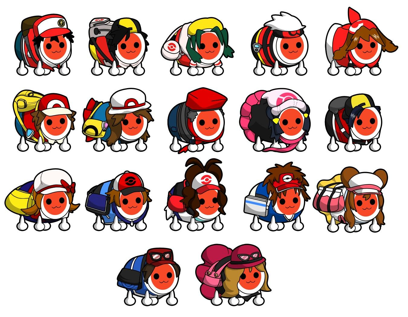 Taiko no tatsujin x Pokémon (With images) Pokemon