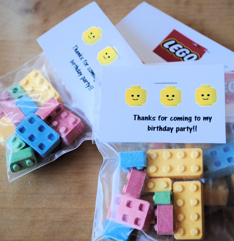 Lego Birthday Party Ideas Lego Birthday Party Lego Birthday Lego Party Favors